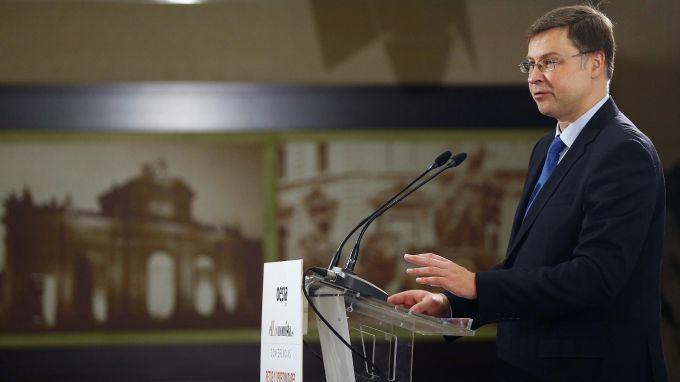 В. Домбровскис: Приемането на България в ERM II ще е положително за икономиката
