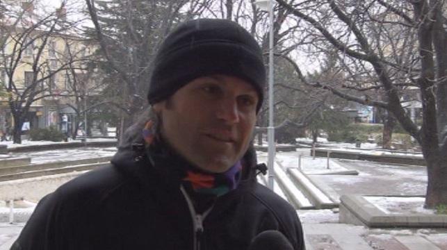 BULGARIAN CLIMBER ATANAS SKATOV SUMMITED EVEREST