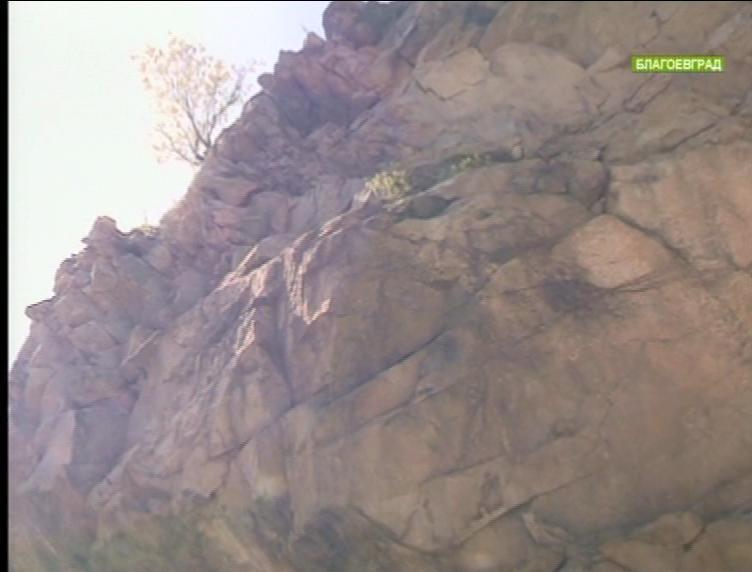 Повишена е опасността от падащи камъни в района на Кресненското дефиле