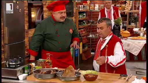 Спържа, пържоли по жабокрътски - Бързо, лесно, вкусно - 9 януари 2014
