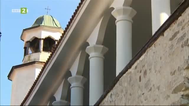 """Митрополитският храм """"Св. Николай Чудотворец"""" в Мелник"""