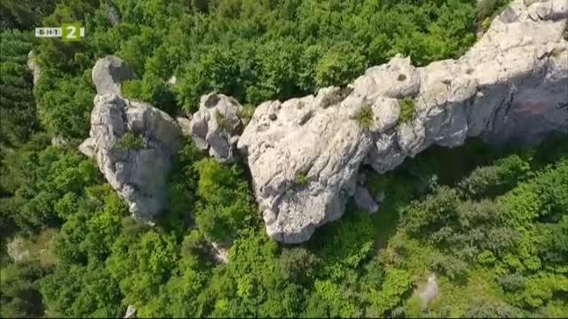 Мистичното скално плато Белинташ
