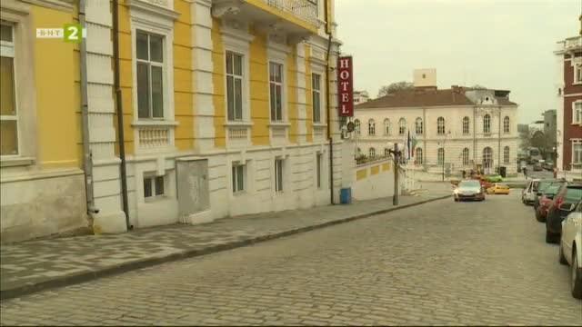 """Старият хотел """"Европа"""" в Русе"""