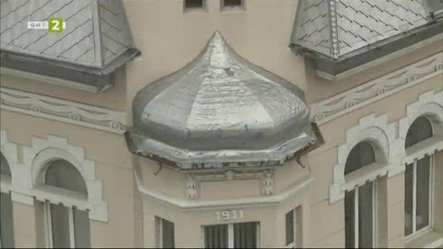 Сградата на братя Бъклови в Русе