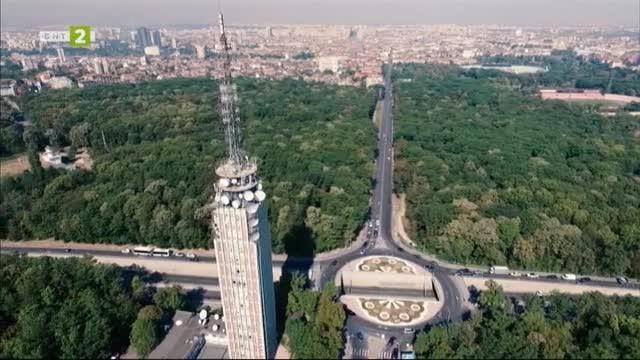 Телевизионната кула в Борисовата градина в София
