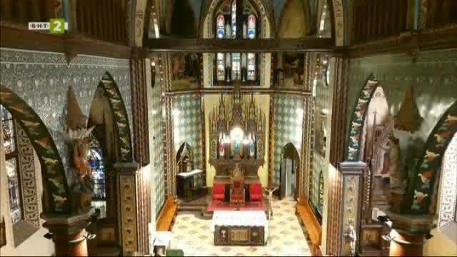 """Католическата катедрала """"Свети Павел от Кръста"""" в Русе"""