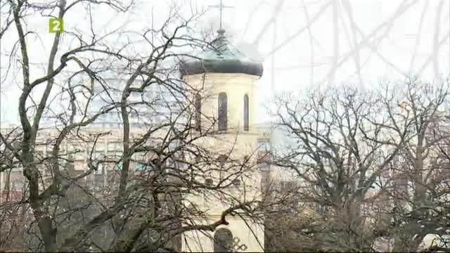 """Сградата на Катедралния храм """"Света Троица"""
