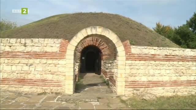 Античната куполна гробница край Поморие