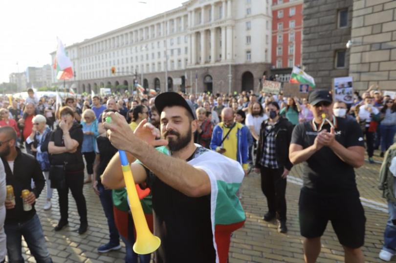 Eleventh day of anti-government protests