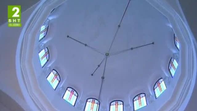 Продължава строежът на храма Всех Святих в Русе