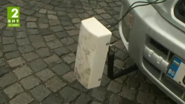 Нова техника проверява състоянието на пътната настилка в София