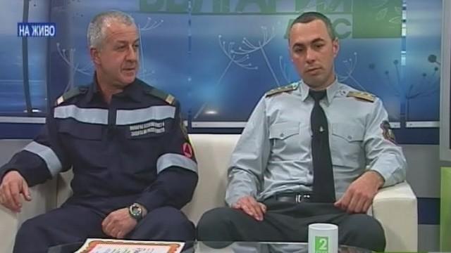 Наградиха пожарникарите на 2013 година за Пловдивска област