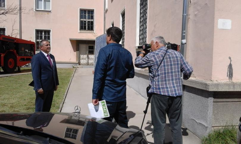 снимка 2 Студенти от МГУ разработиха иновативна технология за газовите хранилища