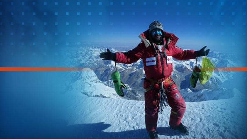 Bulgarian Atanas Skatov climbed 3 eight-thousanders for two months