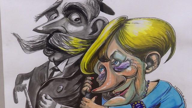 Изложба представя в карикатури Българското председателство