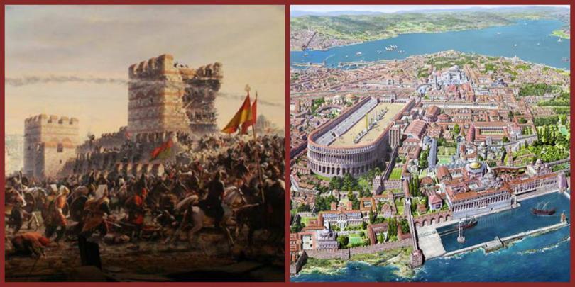 Пътят на българите към Константинопол