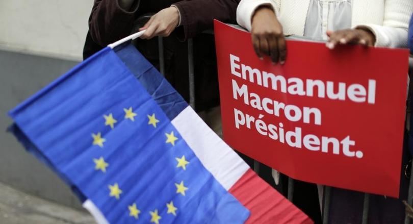 Франция избра Макрон
