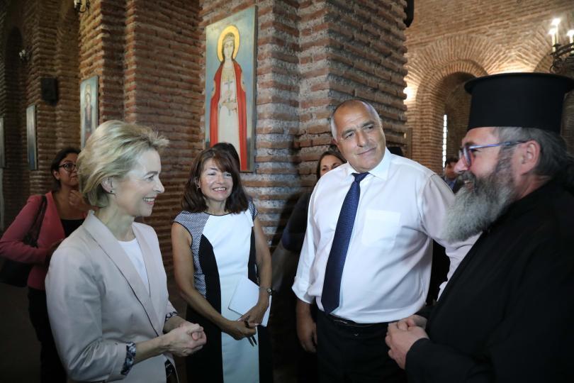 Посещението на Урсула фон дер Лайен в България