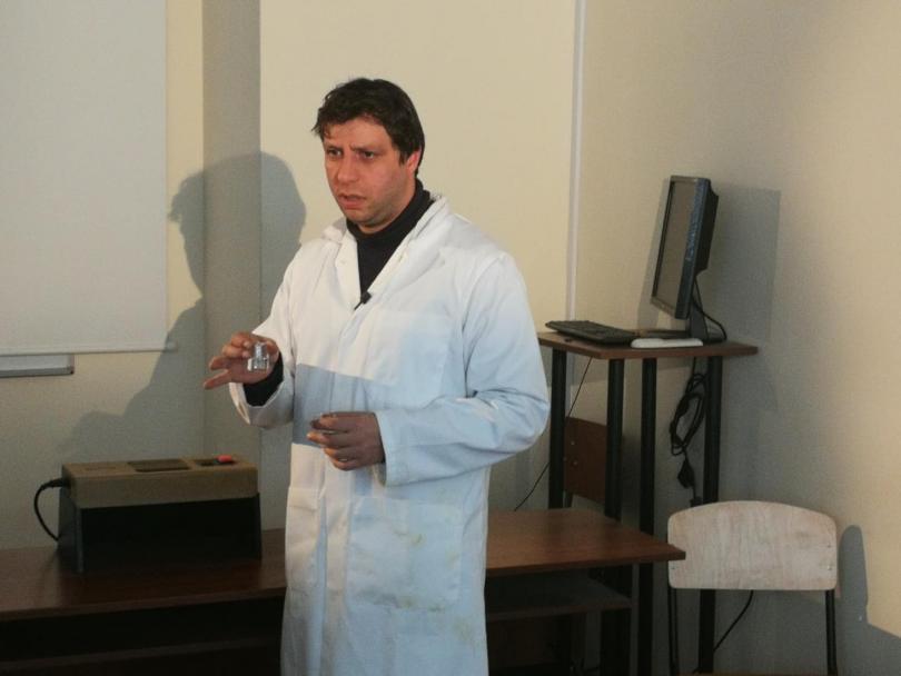 снимка 1 Студенти от ХТМУ разработиха молекулни компютри за диагностика на заболявания