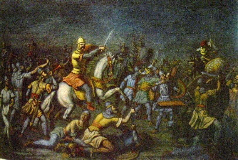 Войните с Киевска Рус и княз Светослав