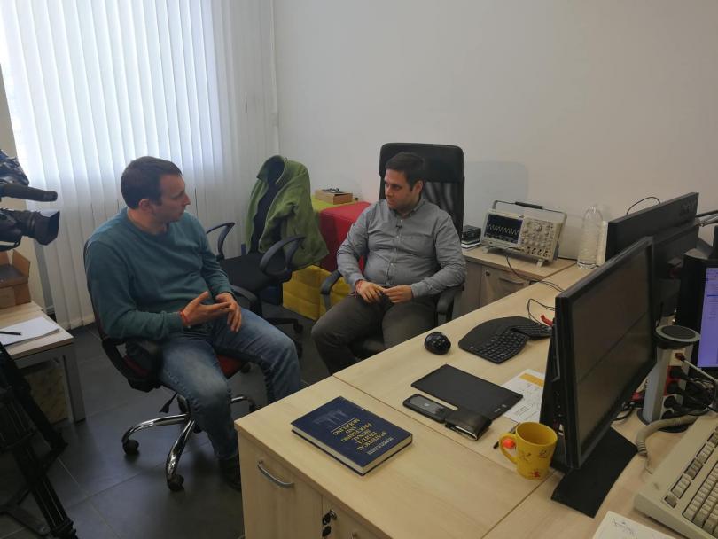 снимка 2 Учени от ТУ в София разработиха метод за визуална телепортация