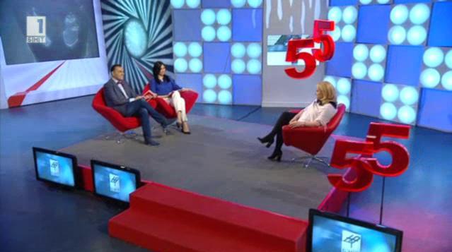 Тони Димитрова в 55 лица от вашия живот