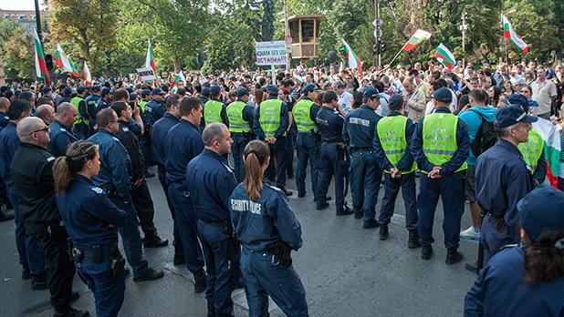 Служителите на МВР отново на протест