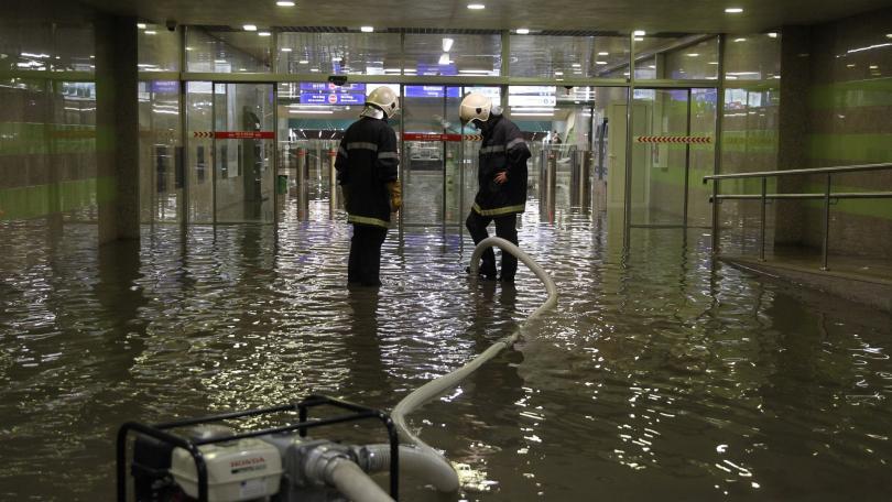 Какви са щетите след поройния дъжд в София?