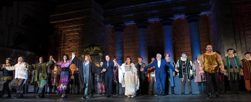 Римски площад - сцената на Софийската опера и балет в Киноцентър Бояна