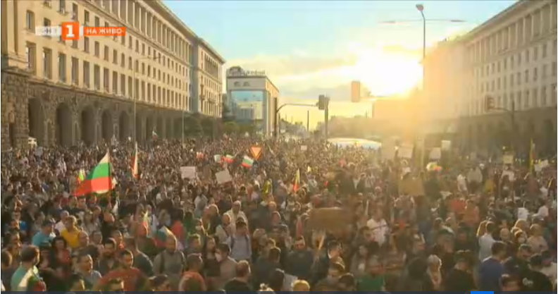 Ninth day of anti-government protests