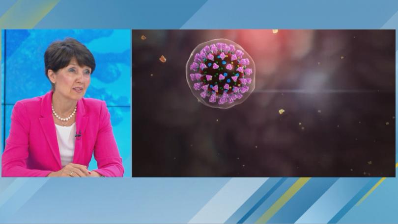 Пулмологът д-р Ангелова: През лятото вирусът отслабва, но трябва да се пазим