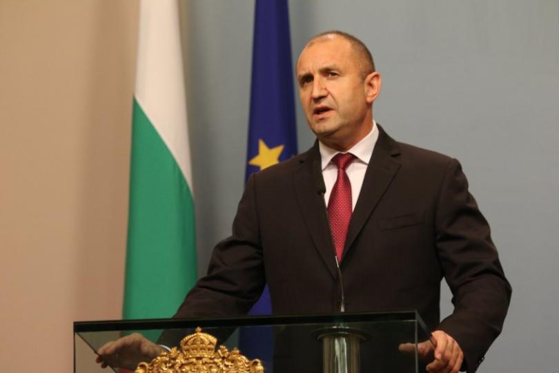Обръщение към народа на президента Румен Радев