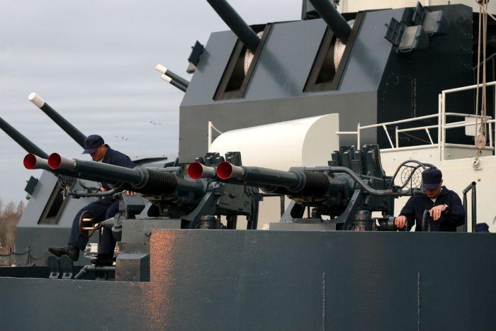 Американски боен кораб