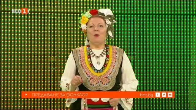 Радка Стефанова, Йордан Василев и Представителен народен хор от село Крепост