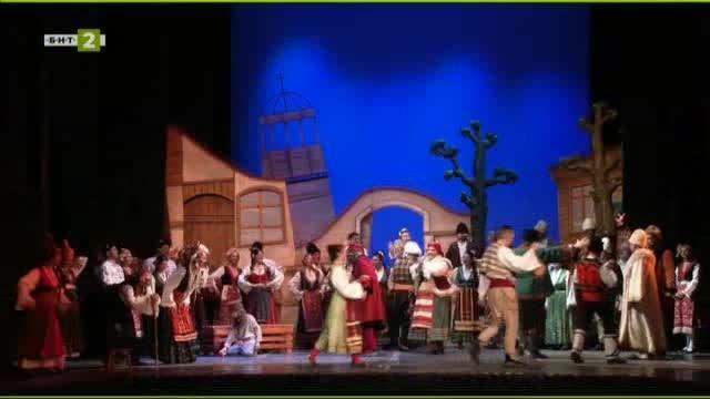 Оперетата Българи от старо време в Държавната опера в Русе