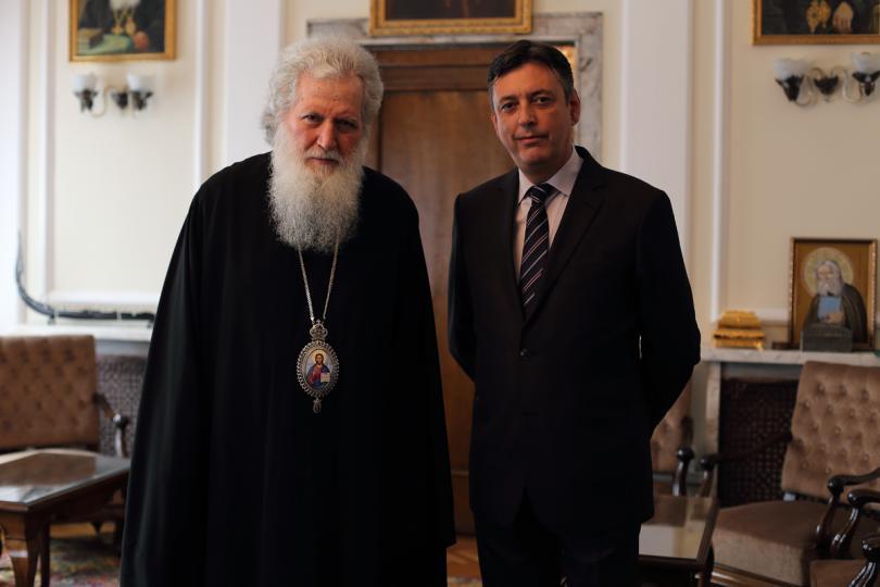 Патриарх Неофит даде специално интервю за «Вяра и общество»