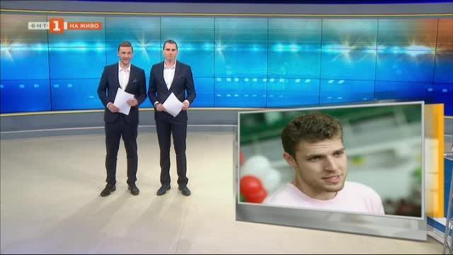 Александър Везенков с интервю за БНТ