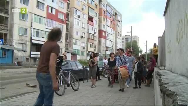Пловдив Каравана - 200 пътуващи артисти радвижиха въздуха в 3 градски квартала