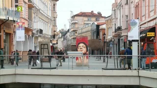 Първи поглед към изложбата с фрагменти от Берлинската стена