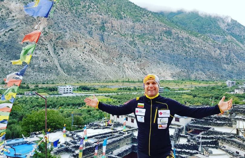 Bulgarian Atanas Skatov climbed his 10th eight-thousander