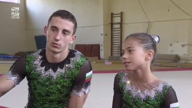 Мариела Костадинова  и Панайот Димитров в Аз съм...