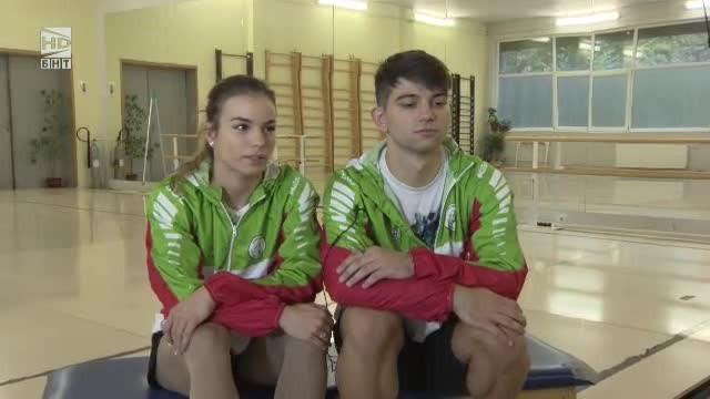 Анна-Мария Стоилова и Антонио Папазов в Аз съм...