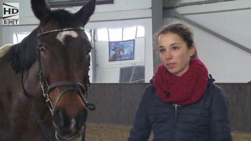 Аз съм...: Ния Стоименова и конната езда