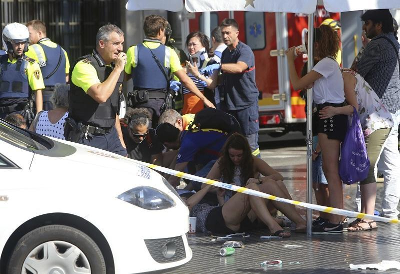 Терористичната атака в Барселона