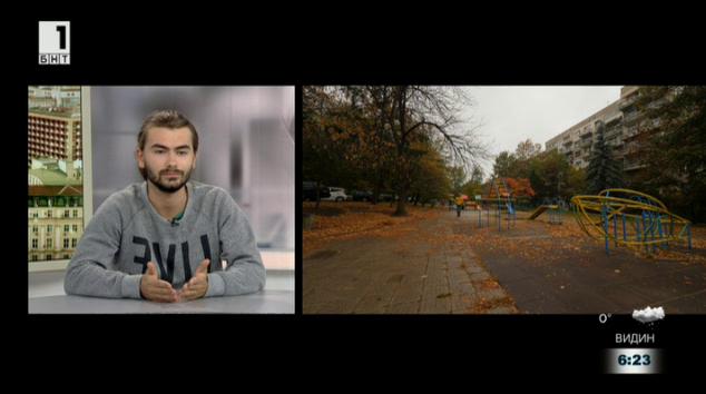 Лазар Харизанов – участник в проекта на БНТ Българското пътуване в Европа