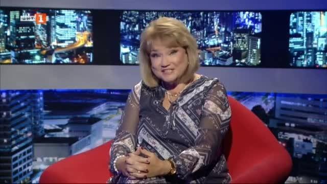 Лили Вучкова и Август Попов в БНТ на 60