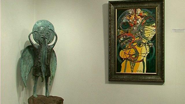 Художникът Анастас Константинов за най-голямото изложение за изкуства - Арт Маями