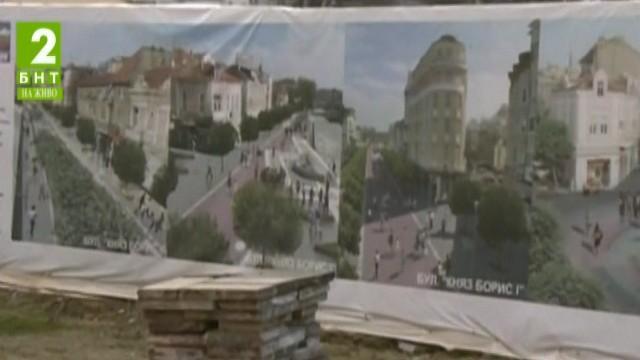 Започва  ремонтът на пешеходната зона в центъра на Варна