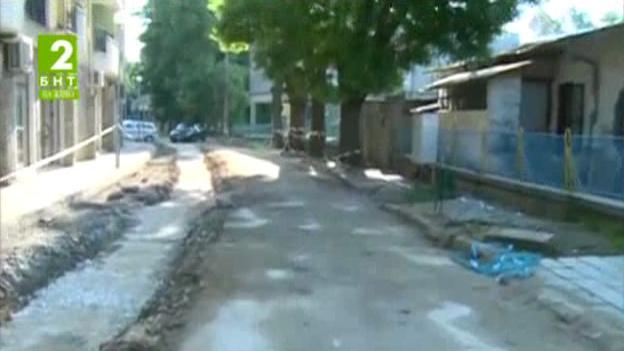 Преасфалтират улица Силистра в Пловдив
