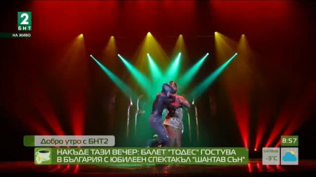 """Балет """"Тодес"""" гостува в България с юбилеен спектакъл """"Шантав сън"""""""
